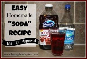 "Easy Homemade ""Soda"" Recipe"