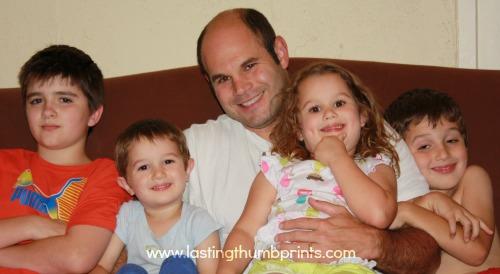 family fun night pajama party