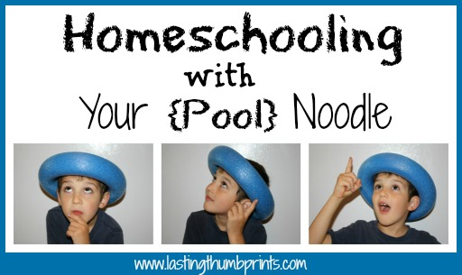 pool noodle learning