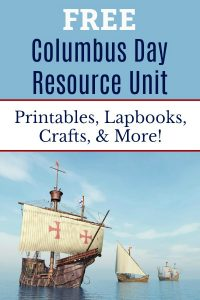 Free Columbus Day Unit Study