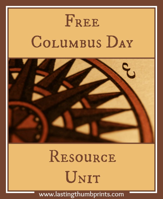 free columbus day resource unit