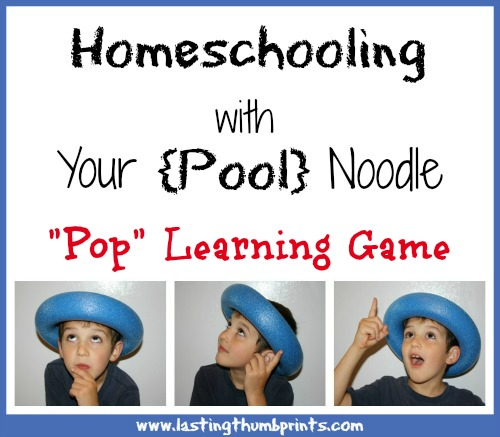 pool noodle learning game