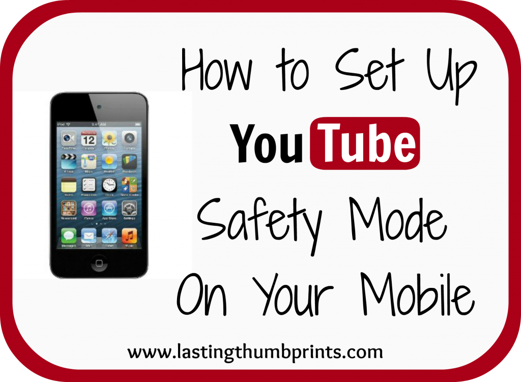 youtube safety mode on mobile