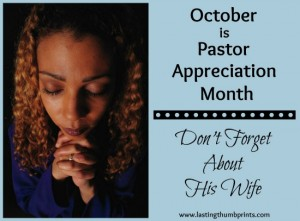 pastor appreciation idea