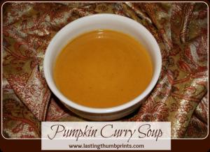 Pumpkin Curry Soup Recipe