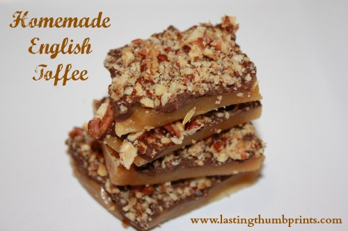 easy homemade english toffee