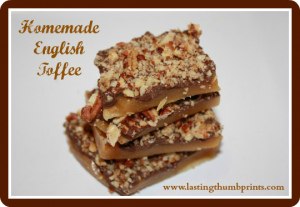 easy homemade english toffee recipe