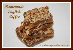 Homemade English Toffee Recipe