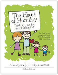 Free Family Bible Study - The Heart of Humility