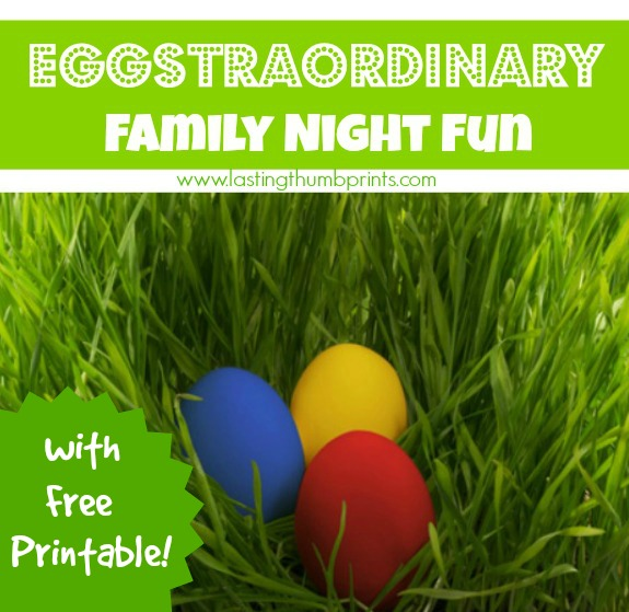 Family Night Fun With Eggs