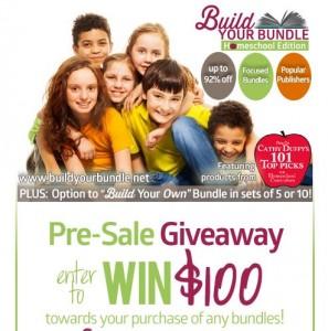 Amazing $100 Giveaway for Homeschool Build Your Bundle Sale!