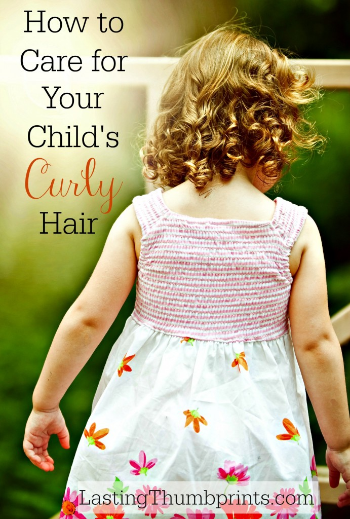 How To Care For Your Child S Curly Hair