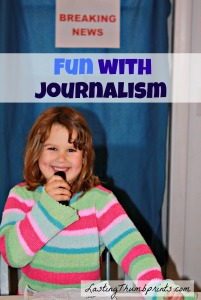 Ideas for teaching journalism to children.