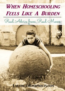 When Homeschooling Feels Like a Burden: Advice from Real Moms