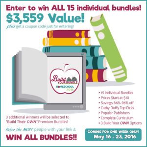 build your bundle giveaway 2016