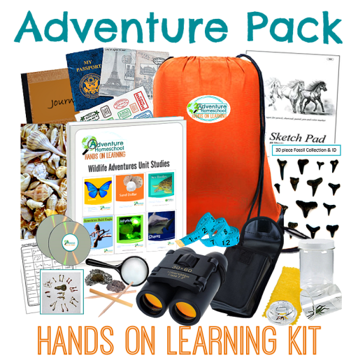 Homeschool Adventure Pack Giveaway - $656 Value!