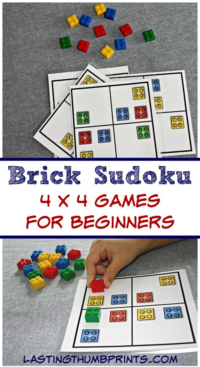 Brick Sudoku for Kids