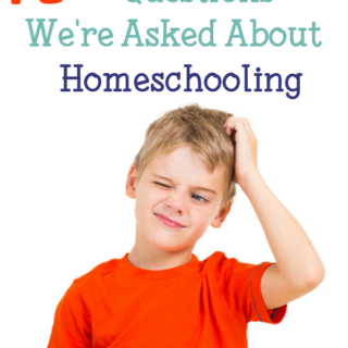 10 Head-Scratching Questions We're Asked About Homeschooling