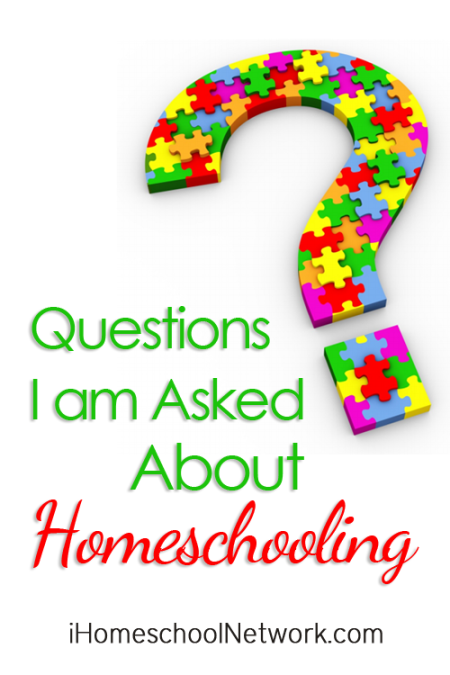 Questions I'm Asked About Homeschooling