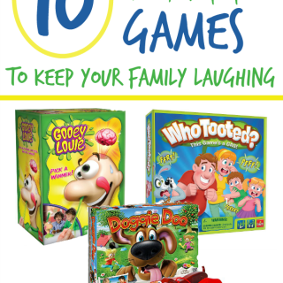 These gross family games will have your family laughing for hours! Perfect for family night or just because. These games also make great gifts.