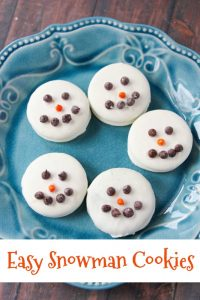 Easy Snowman Cookies Even Kids Can Make