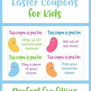 Grab These Free Printable Easter Coupons for Kids! Perfect frugal Easter egg filler your kids will love!