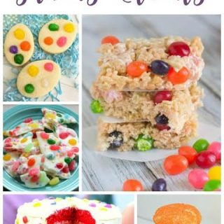 Check out these yummy jelly bean treats that are sure to be a hit! You'll find jelly bean cookies, jelly bean cake, and much more.