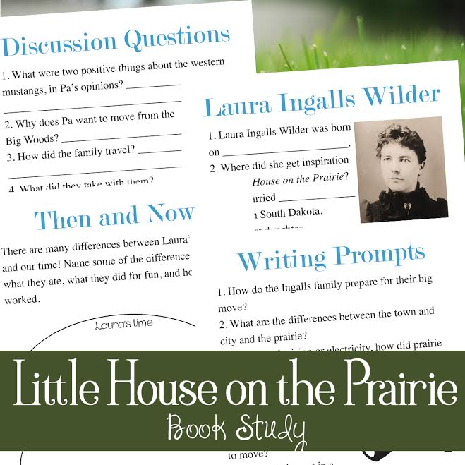Little House on the Prairie Book Study