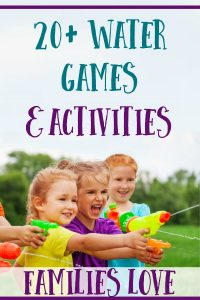 20+ Fun Water Games & Activities For Hot Days