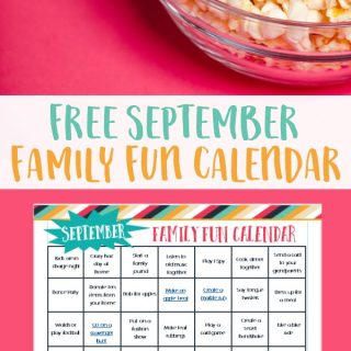 September Family Fun Calendar to Help You Connect With Your Family - Easy and Affordable Activities for Families!
