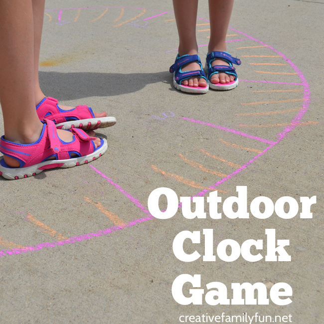 Outdoor Clock Game