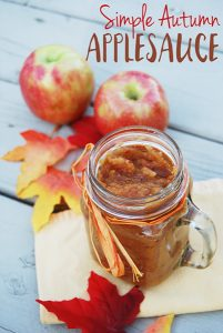 Quick & Easy Homemade Applesauce