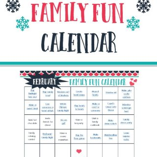 Download this Free February Family FUn Calendar and start making memories with your family! The calendar is full of easy and affordable ideas to keep your family having fun and building stronger relationships.